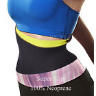 Hot Body Shaper Waist Trainer Fit Slimmer Cincher Belt Tummy Trimmer Corset L023