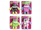 "5.5"" Little Worry Monster Clip-On Plush Soft Toy - Various Colours"