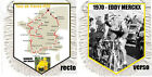 FANION wimpel pennant TOUR DE FRANCE CYCLISTE 1947-2016 ANQUETIL MERCKX HINAULT