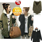 NEW Women's Jacket Trench Parka Winter Warm Coat Overcoat Casual Slim Fit