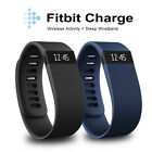 Fitbit Charge Wireless Activity Wristband Black Small and Large Black/Blue