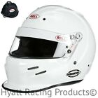 Bell Dominator.2 Auto Racing Helmet Snell SA2015 - 7 3/8 / White