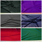 Discount Fabric 4 way Stretch Microfiber Polyester Spandex Choose your Color