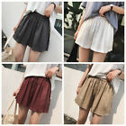 Girls women big sizes loose casual short pants Elastic waist cotton soft shorts