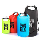Portable Waterproof 500D PVC Dry Bag Roll Top Dry Gear backpack for Kayak hiking