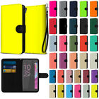 For Sony Xperia XA Ultra 6 inch Solid Color Canvas Wallet Case Cover Phone