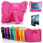 Kids Cute Cartoon Elephant Eva Shockproof Case Cover For Ipad 2 3 4 5 6 Air Mini