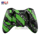 Hydro Dipped Green Black Housing Shells Buttons For XBOX 360 Controller + Tools