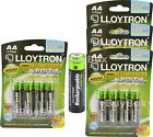 Kyпить Lloytron AA Rechargeable Batteries NiMH 1300mAh Ready Charged LR03 HR03 на еВаy.соm