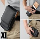 Cell Phones Vertical Leather Case Pouch Cover Belt Clip Holster with Card Holder