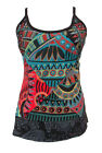 New Womens Patchwork Sleeveless Vest Hippie Top