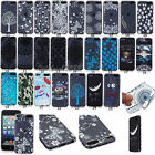 Transparent Patterned Soft Gel TPU Back Case Cover For iPod Touch 5th / 6th Gen