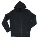 Levis Skateboarding Full Zip Hoodie - Jet Black