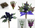 Thistles & Heather Flower Stems Wedding Favour Boxes Decorations Craft