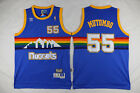 Hot Denver Nuggets #55 Dikembe Mutombo Blue Basketball Jersey Size: S - XXL on eBay