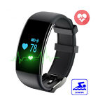 YY DF30 Heart Rate SmartWatch Blood Pressure Monitor Bluetooth For Android IOS