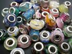 European Glass beads - fit for   charm bracelets 10 - 25 - 50 wholesale prices