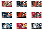 NFL 3' by 5' Team Flag 1 Sided Helmet Image By Fremont Die Select Team Below