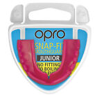 OPRO Snap-Fit Kid's Mouthguard and Case Gum Shield Rugby Hockey Boxing MMA