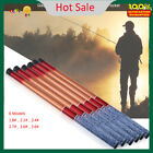 Portable Glass Steel Hand Pole Telescopic Fishing Rod Tool Saltwater 1.8-3.6m DY