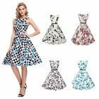 Womens Vintage Style Dresses Rockabilly Retro Pinup Swing Cocktail Party Evening