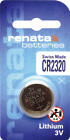Renata CR Batteries 10 Packs - 2032, 2016, 2450 & All Sizes in Photo Available