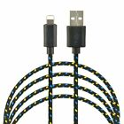 5 x 6 FT Cable USB Data Cord for iPhone 7 Plus 6S SE 5C Sync Charging Wire