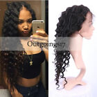 Loose Wave Peruvian 360 Full Lace Band Frontal Closure Wig with Baby Hair Pre