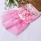 Puppy Dog Lace Tutu Skirt Pet Flower Dress Clothes for Chihuahua Poodle Teddy