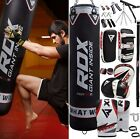 RDX Punching Bag Training MMA Punch Bag Boxing Bag Mitts Gloves Heavy Swivel Gym