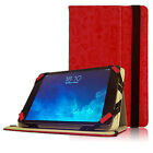Red 'Doodles' Folio Tablet Case fits 7.5 - 8 Inch Tablet See Menu P19