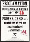 Harry Potter Hogwarts Proclamations Replica Prop Poster 18 Designs Various Sizes
