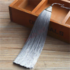 17cm Alloy Metal Cap Ice Silk Tassel Trim Craft Jewelry Making DIY Accessory US