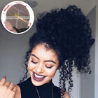 Pre Plucked Curly 360 Wig Remy Brazilian Human Hair 360 Frontal Wigs Black Women