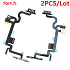 2PCS for iPhone 5 5C 5S 6 6S 7 Plus Power Button Switch On Off Flex Cables