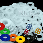Nylon Washers Plastic Washers all Sizes Available & Penny Washer ALL COLOURS