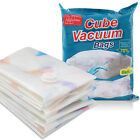 HomeIdeas Vacuum Premium Cubed Storage Bags and Roll Up Space Bags