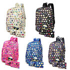 Boys&Girls Backpack 3pcs Set Cute Emoji Printed Schoolbag Leisure Travel satchel