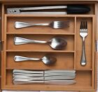 Cutlery holder Tray 5-7 Compartment Large Expendable Cutlery Organiser