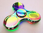 MP3 Full Metal Music Bluetooth LED Spinner rotierender Sound - Mwst.ausw deu.Fa