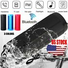 Portable Wireless Bluetooth Stereo Speaker LED Waterproof Music Player FM TF US
