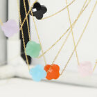 Fashion jewelry Silver Plating Yellow Gold Crystal Necklace 26 colors Crystal