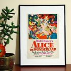 Alice In Wonderland Vintage Disney - A3 A4 - FREE Shipping - QBS