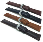 18mm-30mm Leather Watch Band Strap, Black,Tan, Brown for Citizen, Fossil & More image