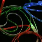 Glowing LED Light Micro-USB Data Sync Charger Charging Cable Cord for Cellphone