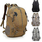 New outdoor Camping Hiking Backpack 40L Tactical Military combat Black camo Bag