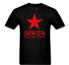 EZLN Zapatista Star Zapata Peace with Dignity and Respect T-shirt Tee