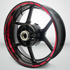 Motorcycle Rim Wheel Decal Accessory Sticker for Triumph Daytona 675 $61.0 USD