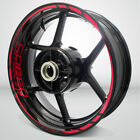 Motorcycle Rim Wheel Decal Accessory Sticker for Triumph Speed Triple R $102.0 USD