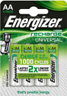 Energizer AA Rechargeable Batteries NiMH 1300mAh Pre Charged HR06 MN1500 LR6 HR6